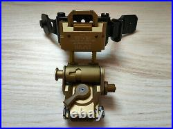 Metal L4G24 Helmet Mount + Metal Tactical PVS28 Dual J arm for Dual AN/PVS 14