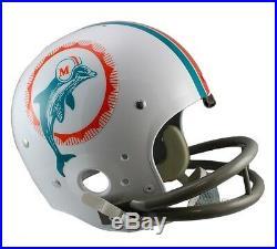 Miami Dolphins 1972 Tk Throwback Full Size Football Helmet