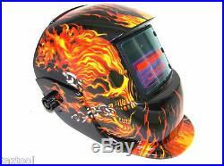 Mig 100 Welder Machine Flux Mig 90amp + Flame Auto Darkening Helmet Welding Mask