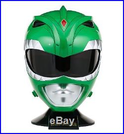 Mighty Morphin Power Rangers GREEN RANGER PROP REPLICA / WEARABLE HELMET