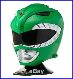 Mighty Morphin Power Rangers Legacy Green Ranger Helmet 11 Bandai Full Size