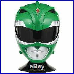 Mighty Morphin Power Rangers Legacy Green Ranger Replica Full Size Helmet Bandai