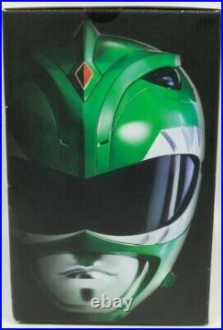Mighty Morphin Power Rangers Legacy Green Ranger Tommy Helmet 11 Full Size MISB
