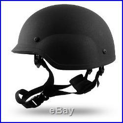 Military Bulletproof PASGT Combat Level IIIA Tactical Ballistic Helmet