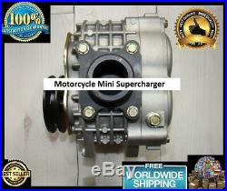 Motorcycle ATV Quad Mini Supercharger Turbocharger Compressor Blower Booster