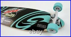 Mountain MTN DEW Baja Blast Taco Bell Atom LONGBOARD Skateboard Helmet Promo NIB
