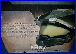 NECA Master Chief Replica (HALO) DOT Certified Motorcycle Helmet Size L Large