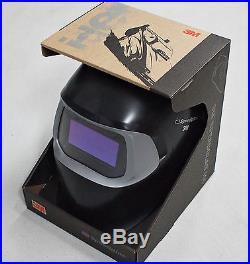 NEW 3M Speedglas 100 Black Welding Helmet with Auto-Darkening Filter 100V