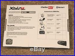 NEW ChatterBox XBi2-H PLUS Bluetooth Intercom Kit HJC HELMETS MAX 1 2 3 III MOD