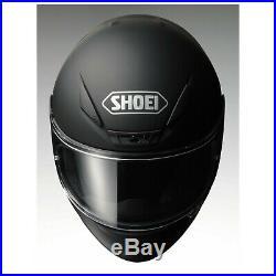 NEW Shoei RF-1200 MATTE BLACK Full Face Snell STREET HELMET
