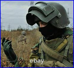NEW Titanhelm Russian TITANIUM Helmet 6B6-3 K6-3 RARE 2ND SIZE