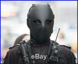 NIJ IIIA Bulletproof Full Facemask without Helmet Cut