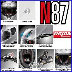 NOLAN Integralhelm N87 SPECIAL PLUS N-COM schwarz graphite Sonnenblende Pinlock