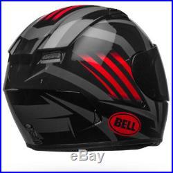 New Bell Qualifier STD Blaze Black / Red / Titanium Motorcycle Motorbike Helmet