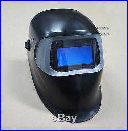 New HQ 3M Speedglas 100 Black Welding Helmet with Auto-Darkening Filter 100V