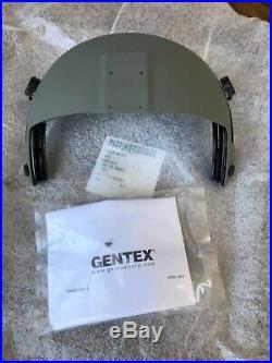 New Hgu56 Gentex Flight Helmet Complete Visor Cover Mount & Visors Shield Hgu 56