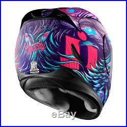 New Icon Airmada Opacity Womens Motorcycle Helmet All Sizes Stunt Street Sport