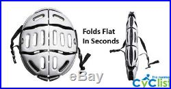 New Morpher FLAT FOLDING Bike Helmet CE Cycling Bicycle Fast UK Delivery