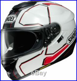 New Shoei GT AIR Pendulum TC6 White/Red Full face Bike Helmet with sun visor