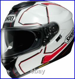 New Shoei GT AIR TC 6 Pendulum White / Black / Red Motorcycle Helmet