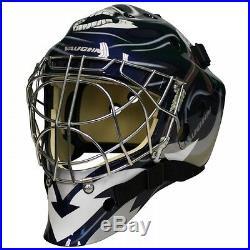 New Vaughn 7700 Cat Eye goal helmet Reaper senior small ice hockey goalie mask