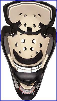 New Vaughn 7700 Cat Eye goal helmet black senior small Sr ice hockey goalie mask