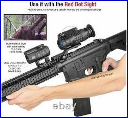 Night Vision Rifle Scope Monocular Goggle Mountable To Helmet Ir Hunting