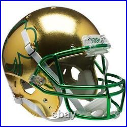 Notre Dame Fighting Irish Textured Shamrock Xp Full Size Replica Football Helmet