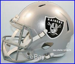 OAKLAND RAIDERS Riddell Full Size SPEED Replica Helmet