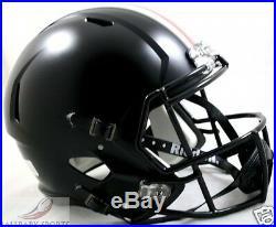 OHIO STATE BUCKEYES (BLACK) Riddell Full Size SPEED REPLICA Helmet