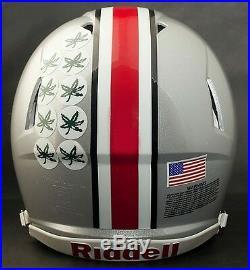 OHIO STATE BUCKEYES NCAA Riddell SPEED Full Size Authentic Football Helmet