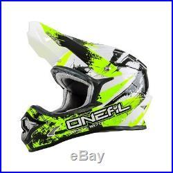 ONeal 3 Series SHOCKER Vented Motocross MX Motorcycle Crash Helmet
