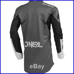 ONeal Element Black motocross MX gear Jersey Pants Gloves Boots Helmet combo