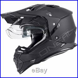 Oneal Sierra II Solid Dual Sport Helmet O'Neal Adventure Motorbike Off On Road