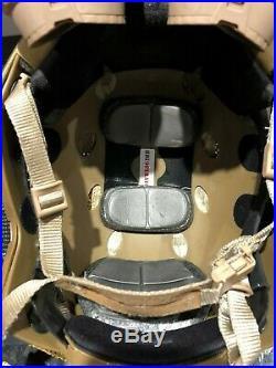 Opscore Helmet + nods + helstar 6 + counter balance