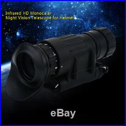 Optical Glass Infrared IR Monocular HD Night Vision Telescope Device for Helmet
