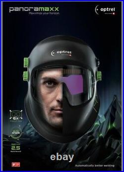 Optrel Panoramaxx Welding Helmet United Welding Supplies Optrel Gold Partner