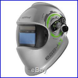 Optrel e684 Series Silver Expert Series Welding Helmet 1006.500 SWISS MADE
