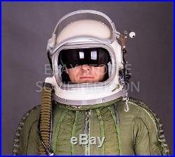 Original Russian USSR pilot flight helmet GSH 6 size M 2 Soviet space air force