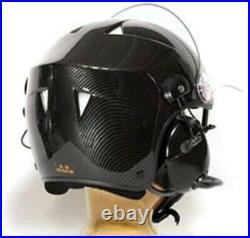 Paramotor / Avionic Helmet Full intercom 3M XP5 NAC Horus Carbon RRP £495
