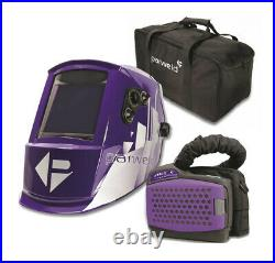 Parweld XR940A Air Fed Powered P3 Welding Helmet AIR PURIFYING RESPIRATOR mask