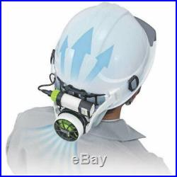 Pleasant and Cooling Fan in the Work Helmet Full Set Tajima with Tracking NEW