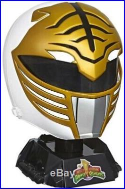 Power Rangers Lightning Collection Mighty Morphin White Ranger Helmet Pre order