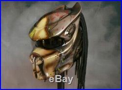 Predator Carbon Fiber DOT Approved Custom Motorcycle Helmet AVP Helmet Size L