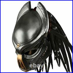 Predator Helmet Adult Full Face Soft Resin, Halloween, Party Outfit