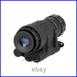 Pro Tactical Rifle Scope HD Night Vision Helmet Telescope Hunting Kit Waterproof