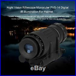 Professional 2x30 Infrared Digital Night Vision Riflescope Telescope Helmet P6