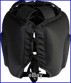 RDX Head Gear MMA Protector Head Guard Kick Boxing Helmet Martial art US
