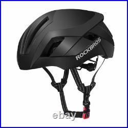ROCKBROS Cycling Helmet EPS Protective Helmet Breathable 3in1 Size 57-62cm Black