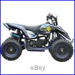 Rebo Lt50a Kids Mini 49cc 2-stroke Air Cooled Petrol Quad Bike ATV Plus Helmet